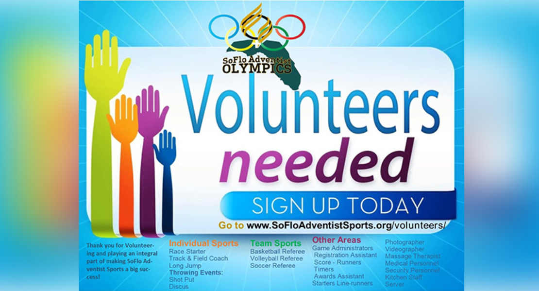 Volunteer flyer copy