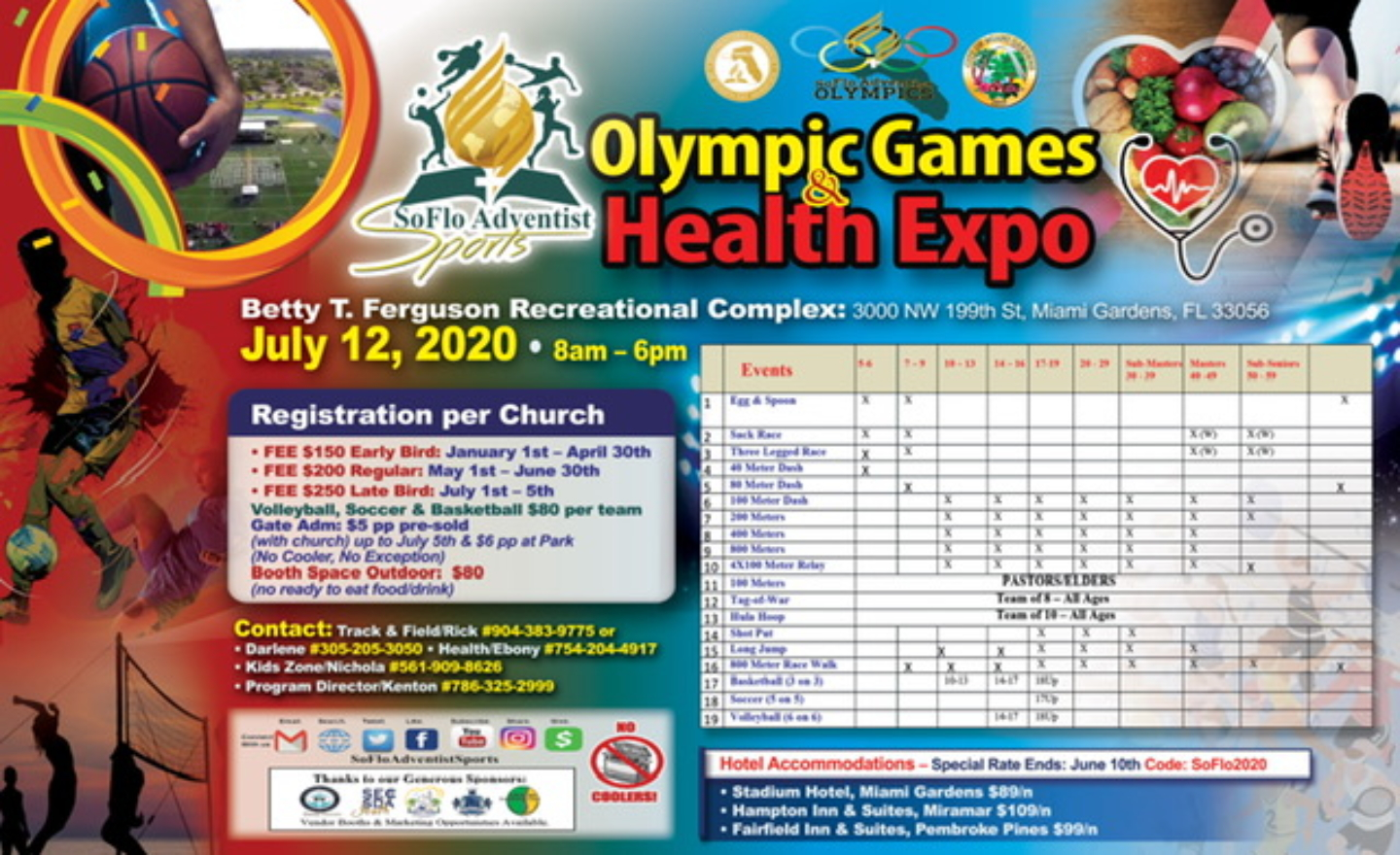 SOFLO OLYMPICS AND HEALTH EXPO